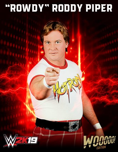 WWE2K19 Roster Rowdy Roddy Piper