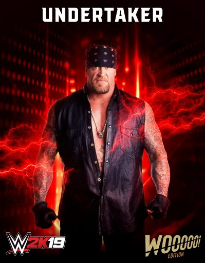 WWE2K19 Roster Undertaker