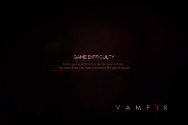 Vampyr - new difficulty