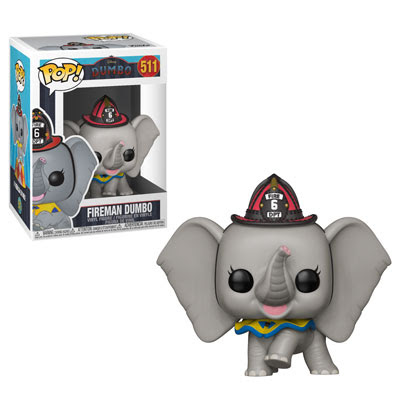34216 Disney DumboLiveAction FiremanDumbo POP GLAM