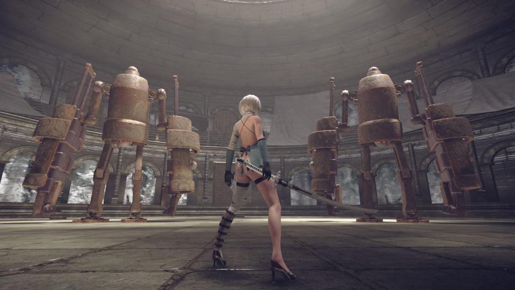 Nier: Automata - 2B booty dance