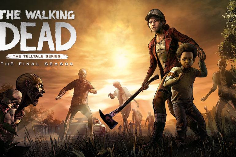 The Walking Dead: The Final Season - cover