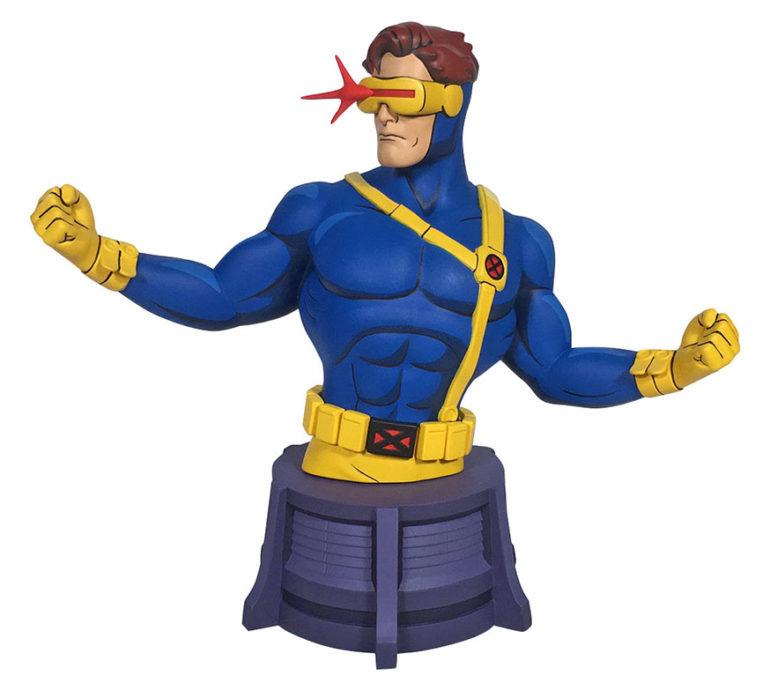 MarvelAnimatedX MenCyclopsMini Bust