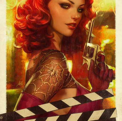 Mary Jane #1 Cover Artgerm