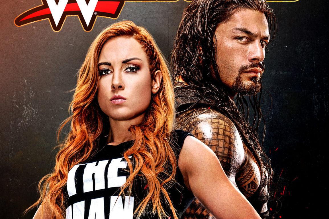 WWE 2K20 Cover Art