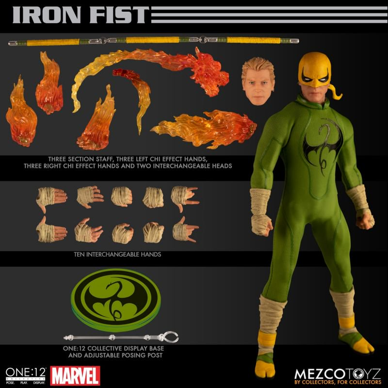 Mezco One12 Iron Fist 15