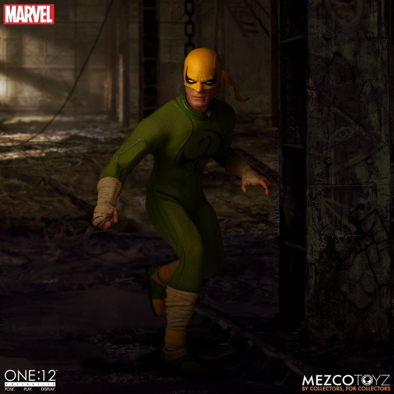 Mezco One12 Iron Fist 11