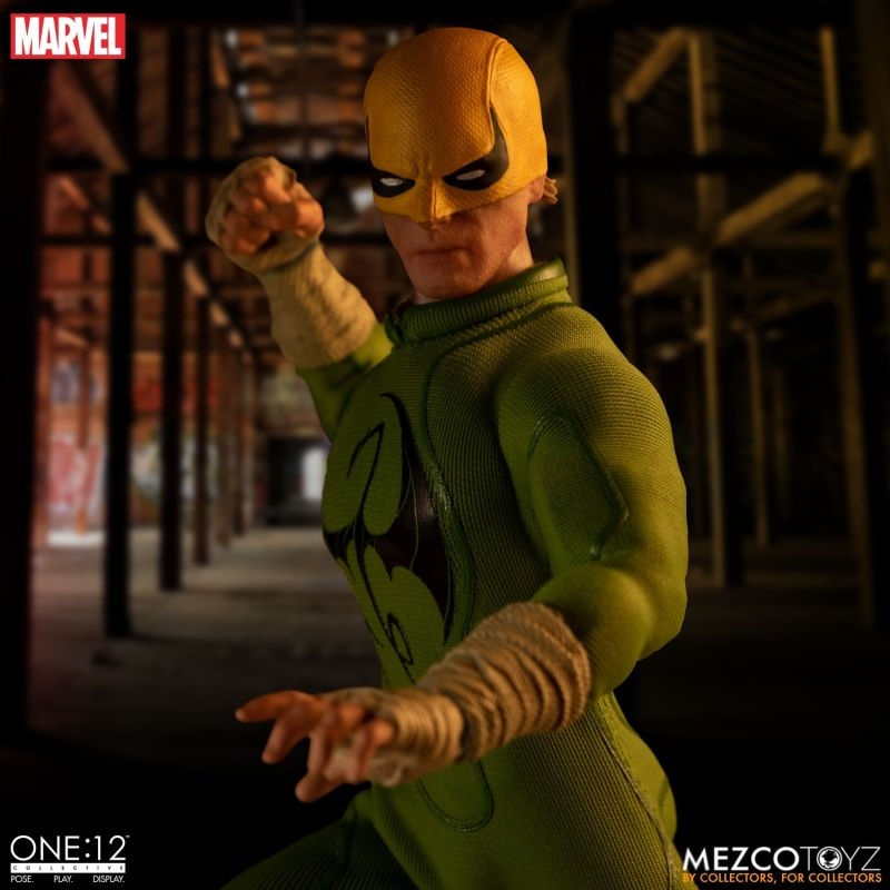 Mezco One12 Iron Fist 13