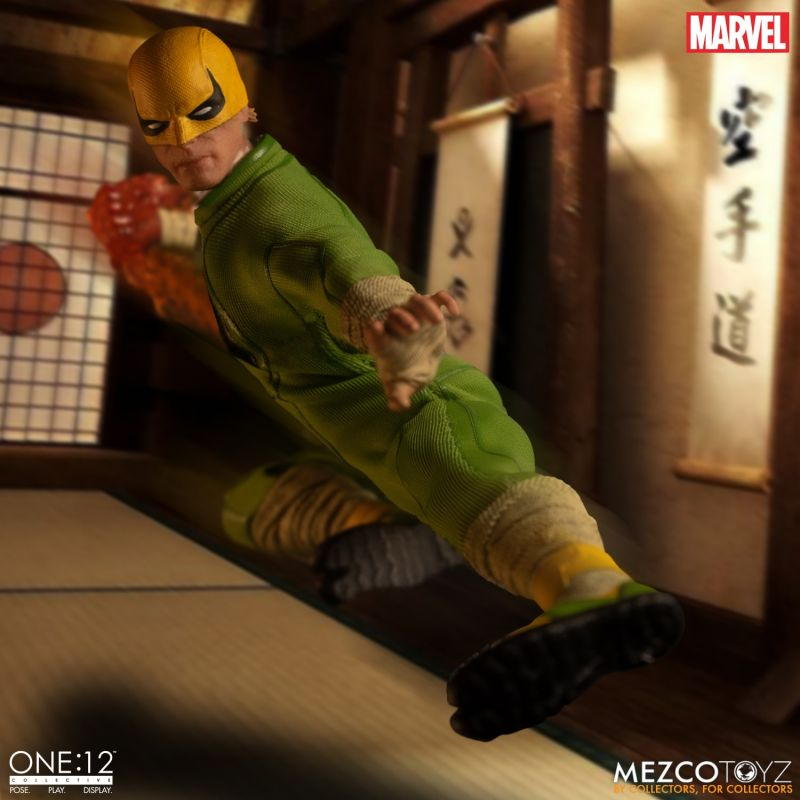 Mezco One12 Iron Fist