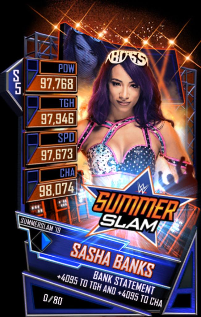 WWESC S5 Sasha Banks SS19