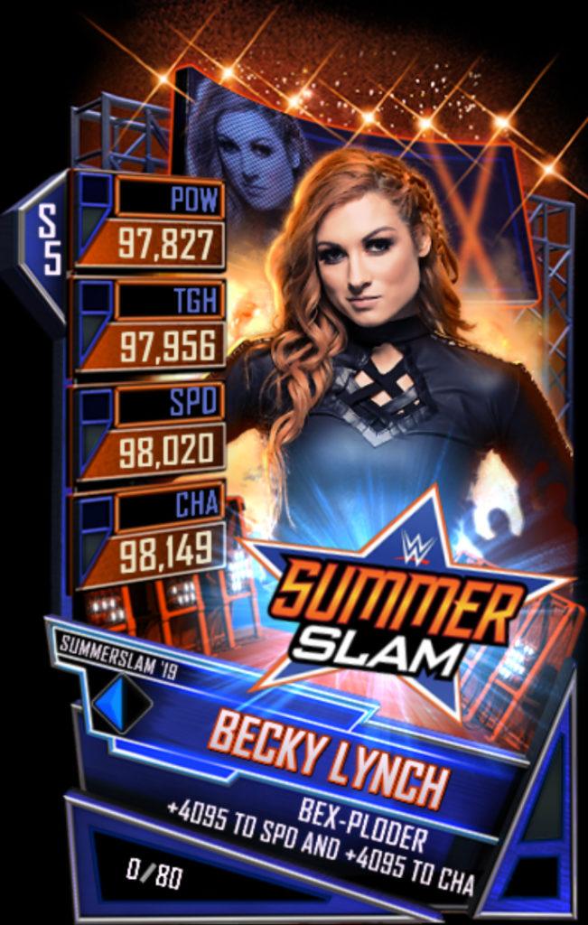 WWESC S5 Becky Lynch SS19