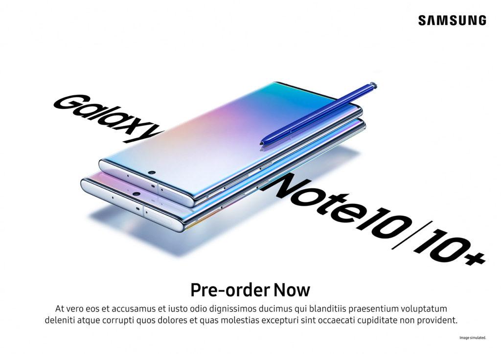 002 galaxynote10 pre order kv aura glow