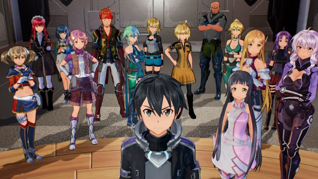 Sword Art Online: Fatal Bullet Complete Edition - character pic