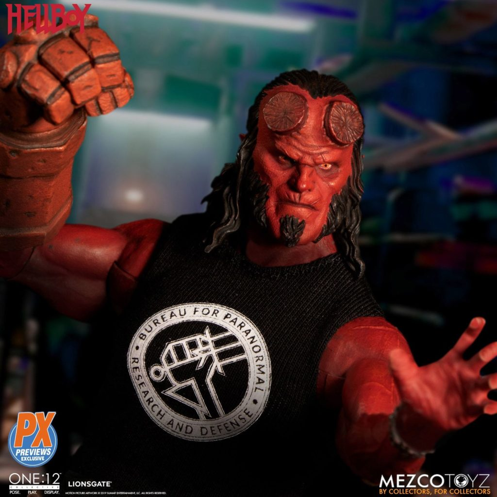 Mezco One12 Hellboy 2019 1