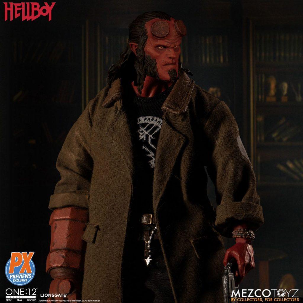 Mezco One12 Hellboy 2019 2