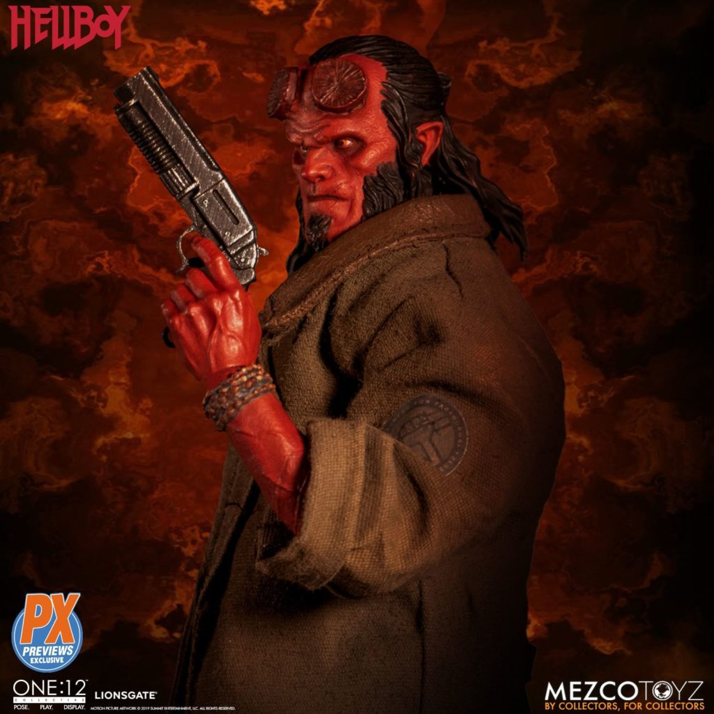 Mezco One12 Hellboy 2019 4