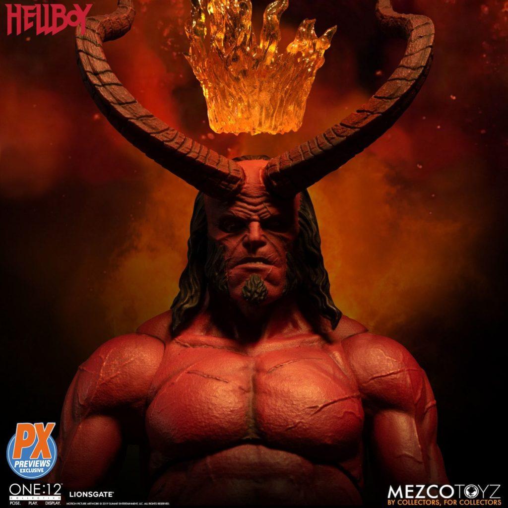 Mezco One12 Hellboy 2019 10