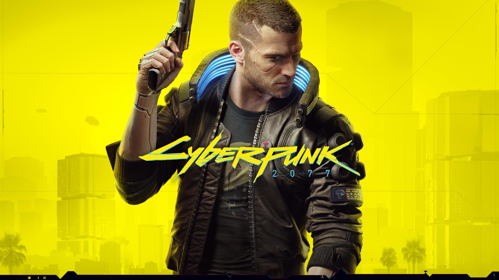 Cyberpunk 2077 - cover