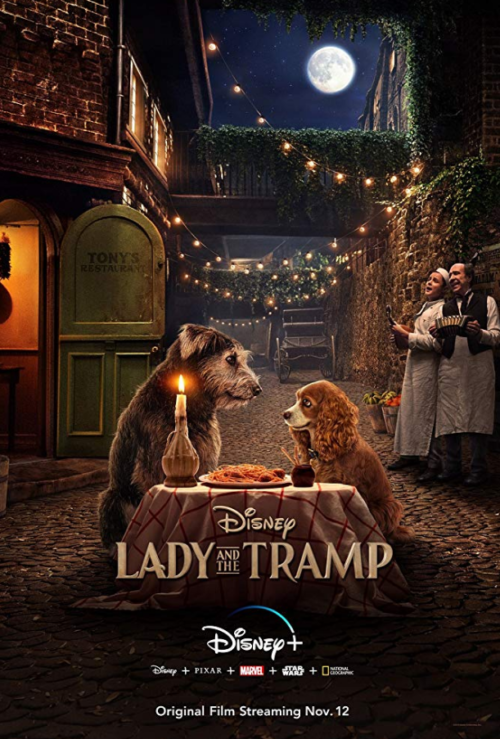 Lady and the Tramp D23 Poster