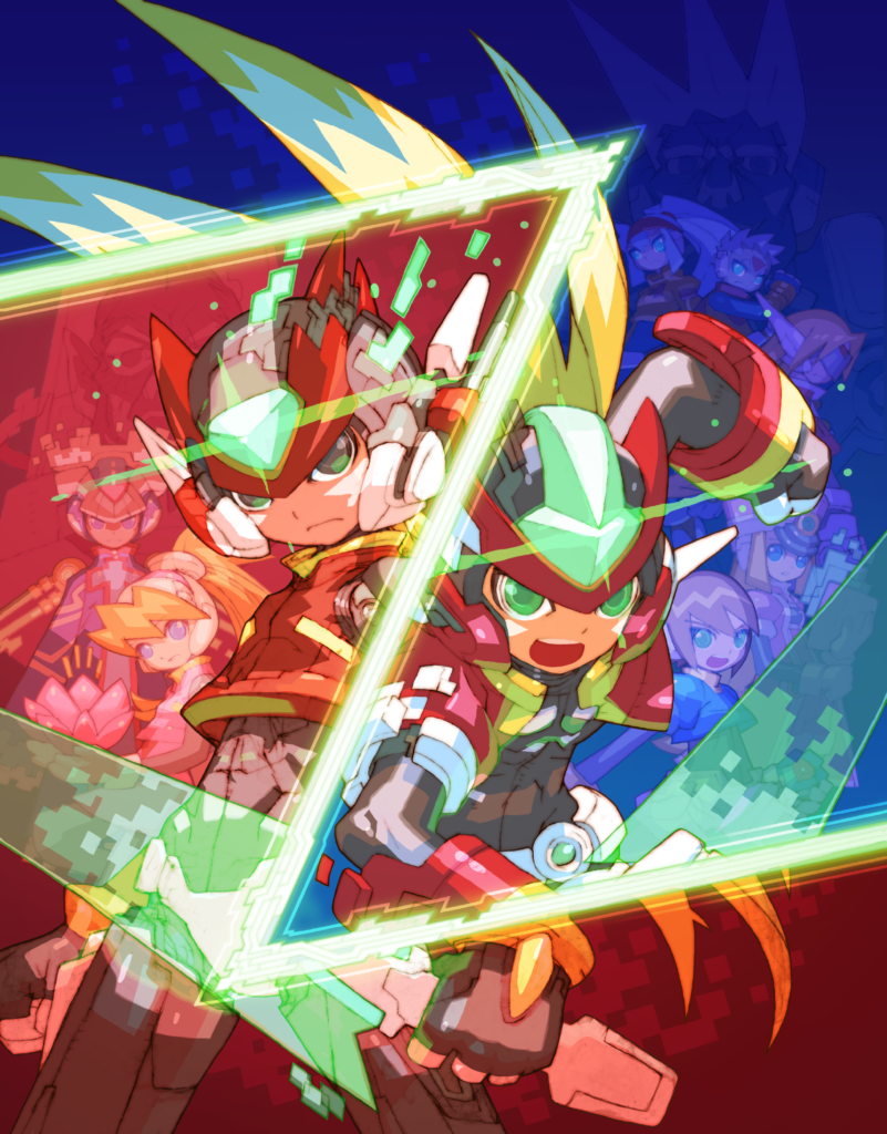 Mega Man Z/ZX Art