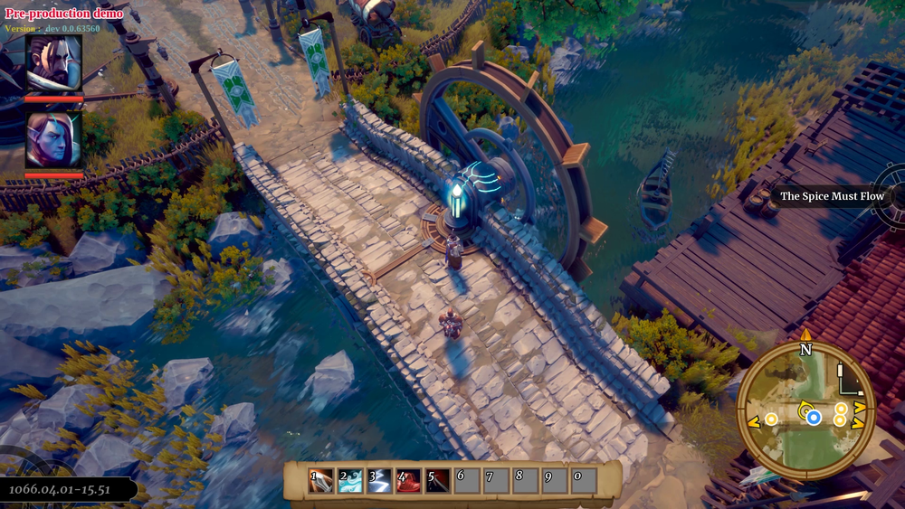 Project Witchstone - bridge