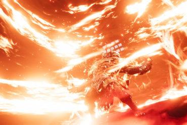 Final Fantasy VII Remake - Ifrit's rage