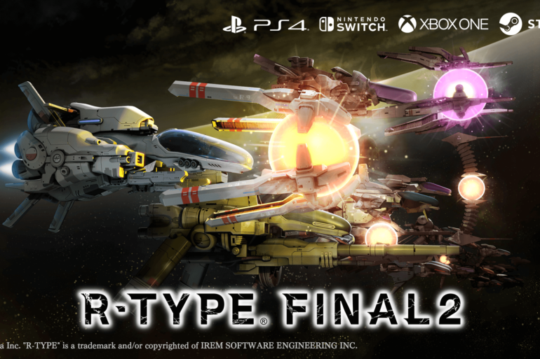 R-Type Final 2 - splash cover
