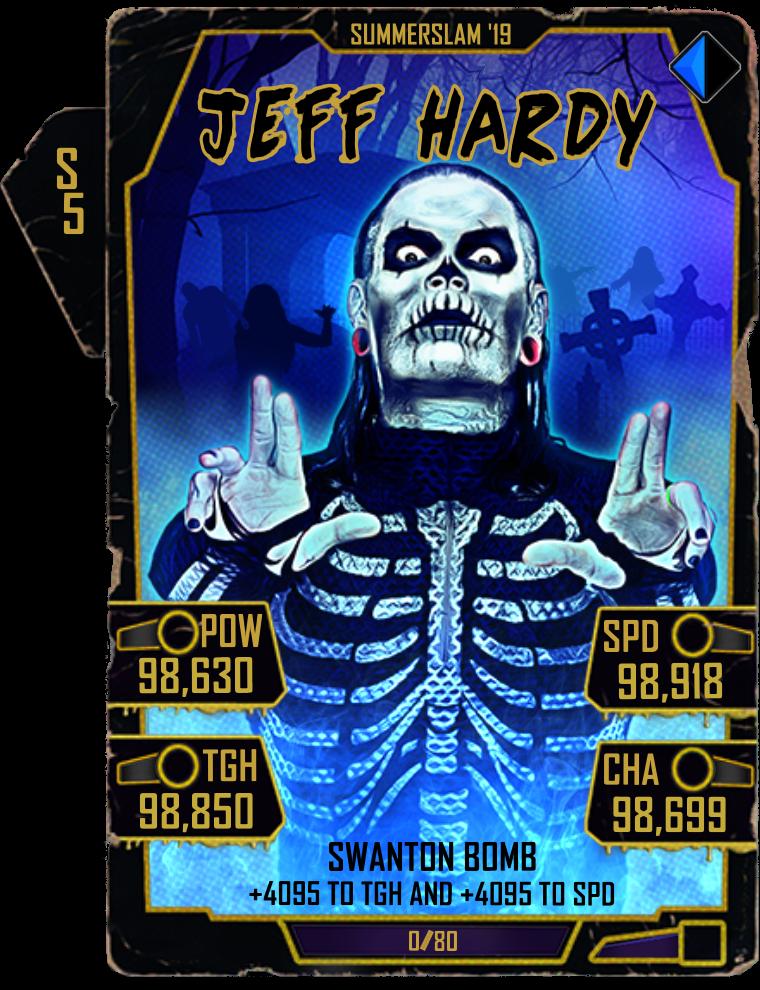 WWE SuperCard Halloween 2019 1