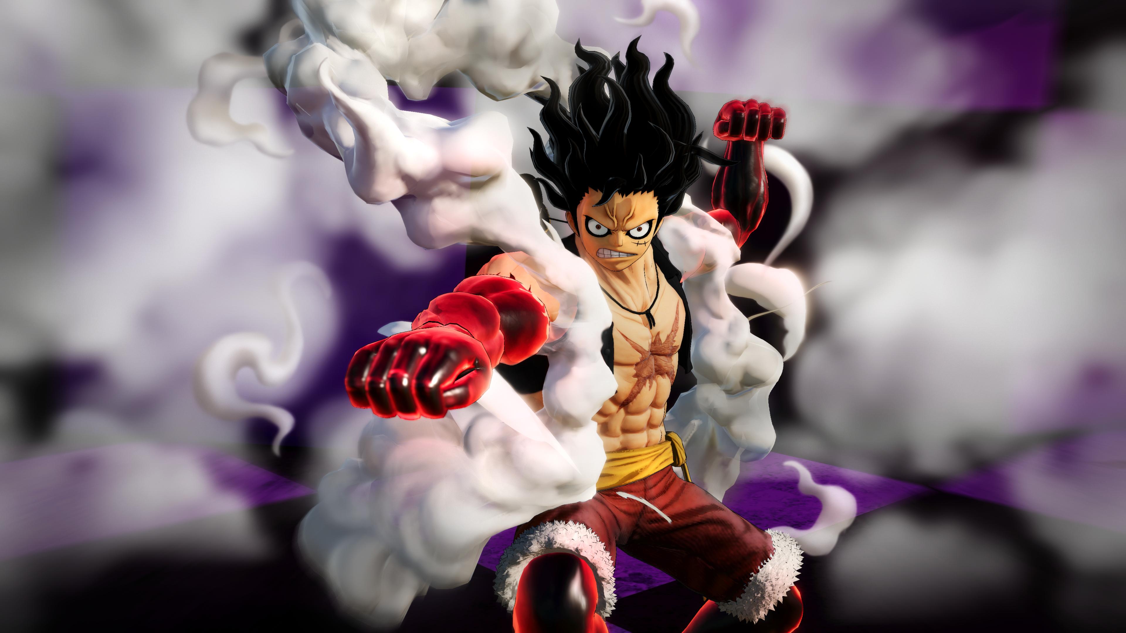 One Piece Pirate Warriors 4 - Gear Fourth Snakeman Luffy