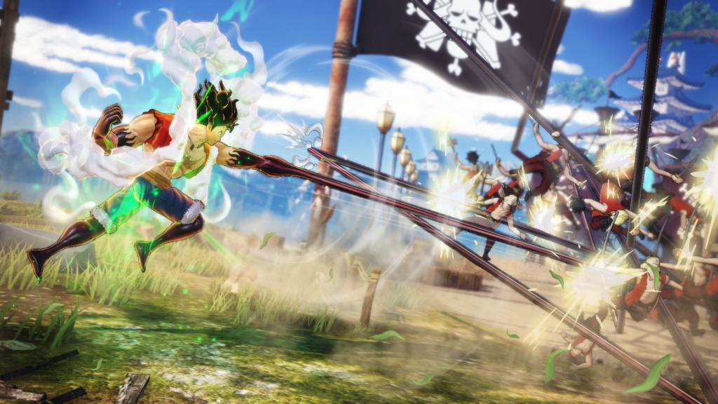One Piece Pirate Warriors 4 - Snakeman attacks!