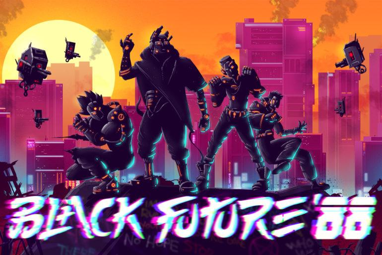 Black Future '88 - key art