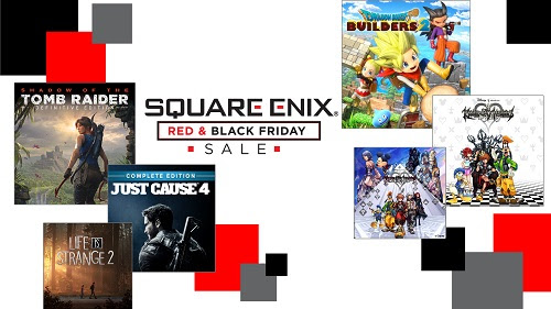 Square Enix - Red and Black Friday