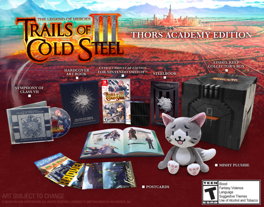 Trials of Cold Steel III - TAE