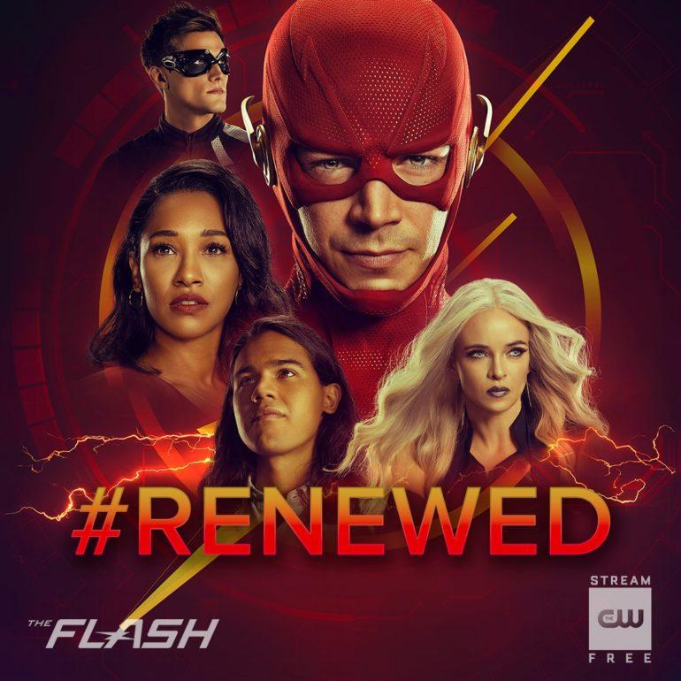 Flash Season 7 CW