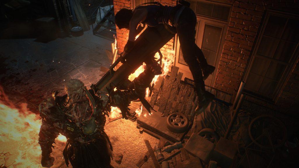 Resident Evil 3 - Jill vs nemesis