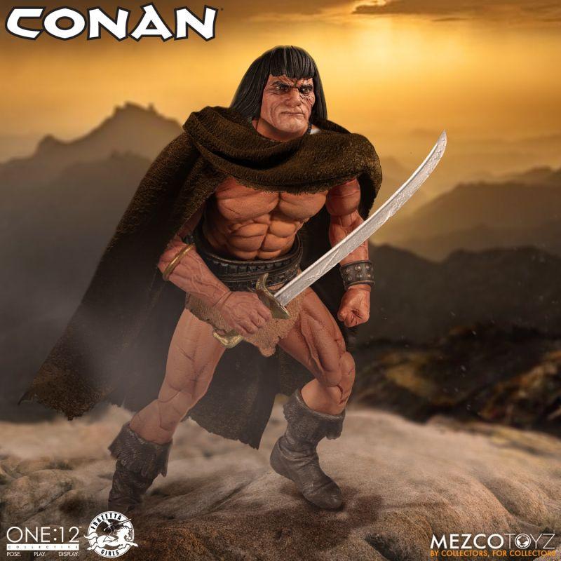 Mezco One12Conan 9