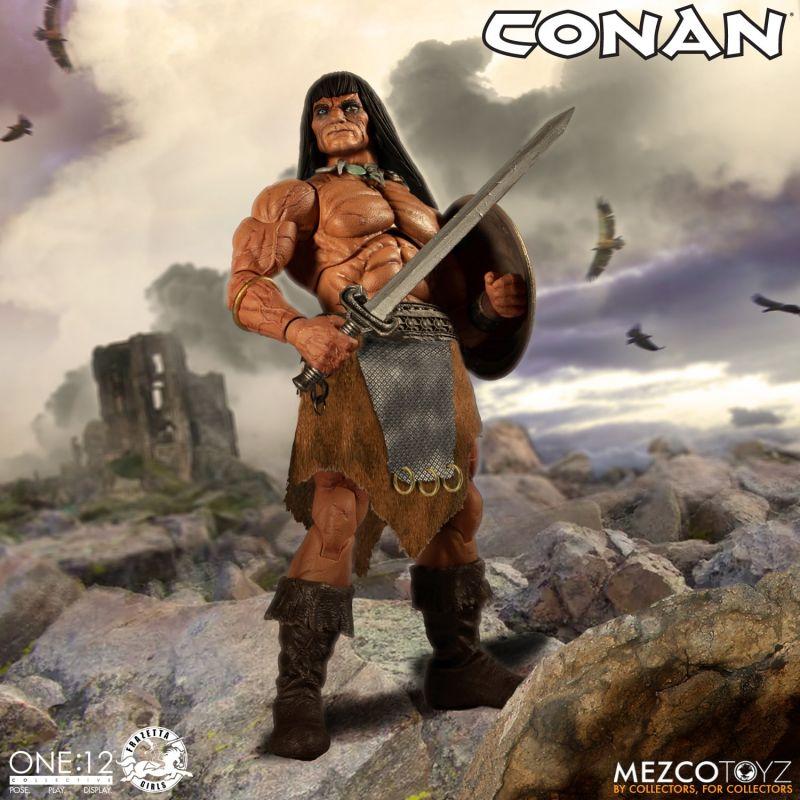 Mezco One12Conan 2