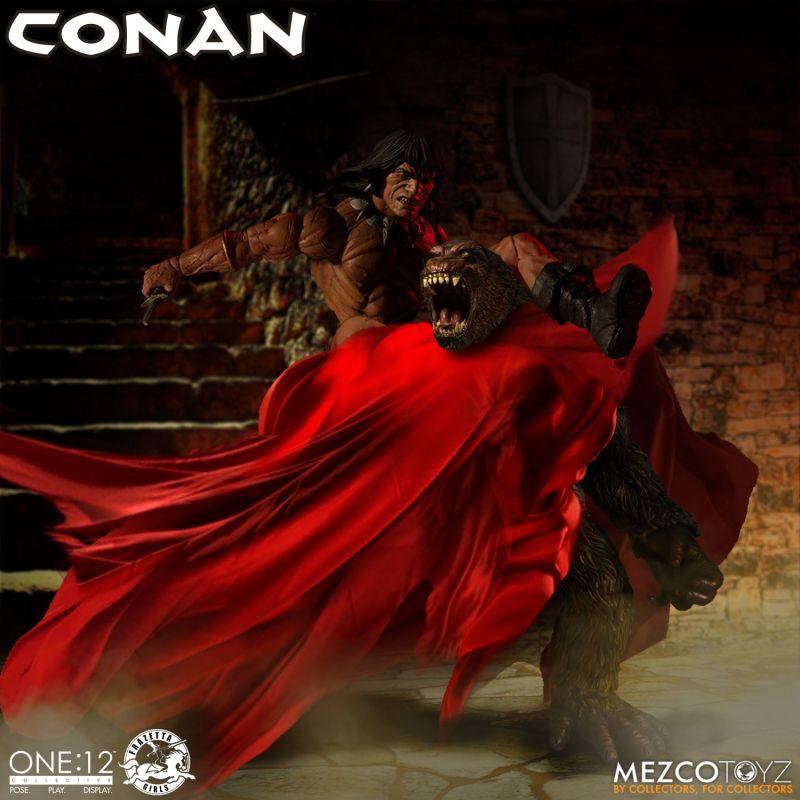 Mezco One12Conan 5