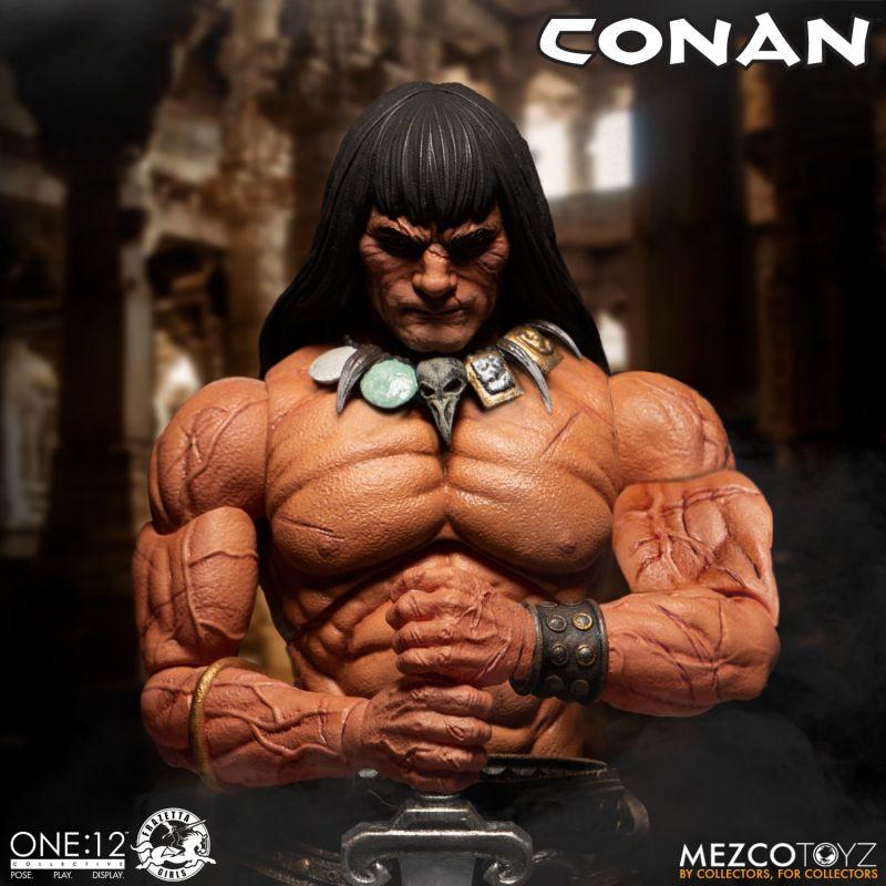 Mezco One12Conan 6