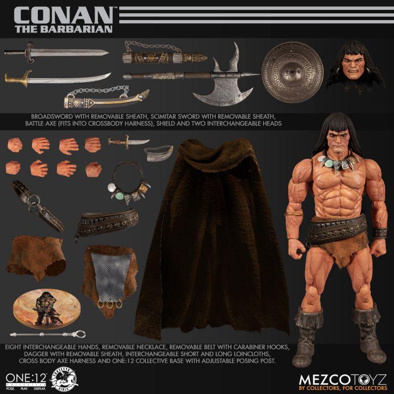 Mezco One12Conan 8