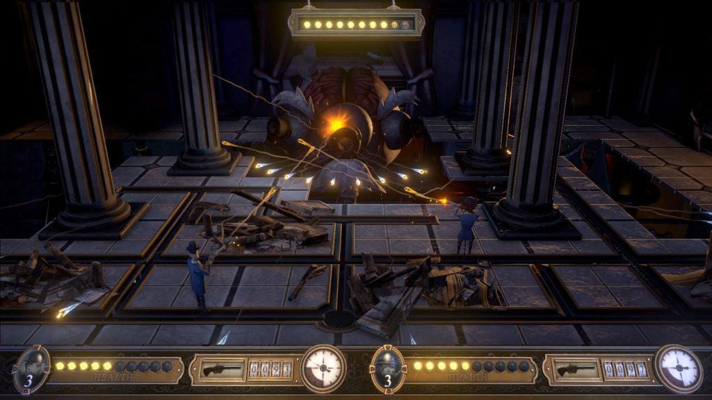 Bartlow's Dread Machine - boss fight