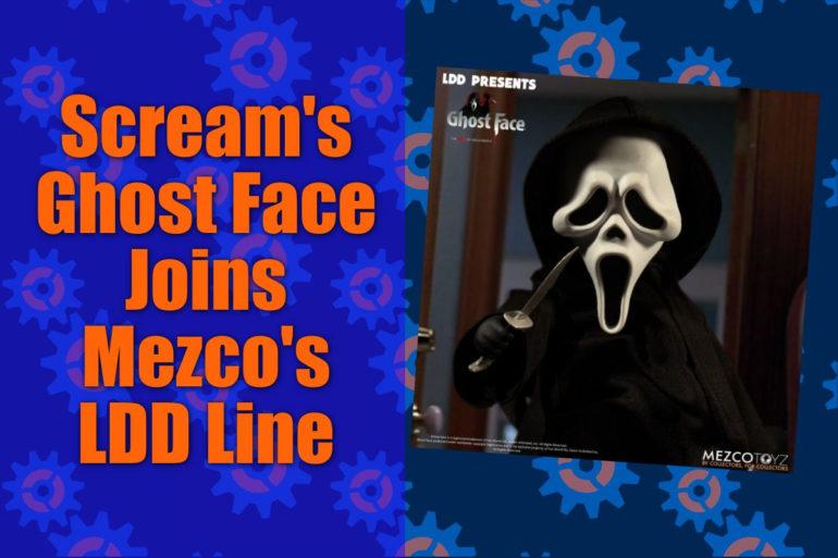 Ghost Face LDD Mezco