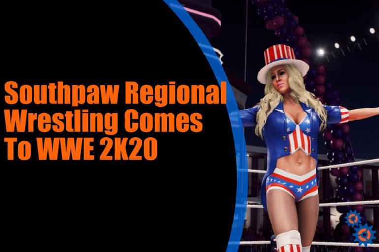 WWE 2K20 Southpaw DLC