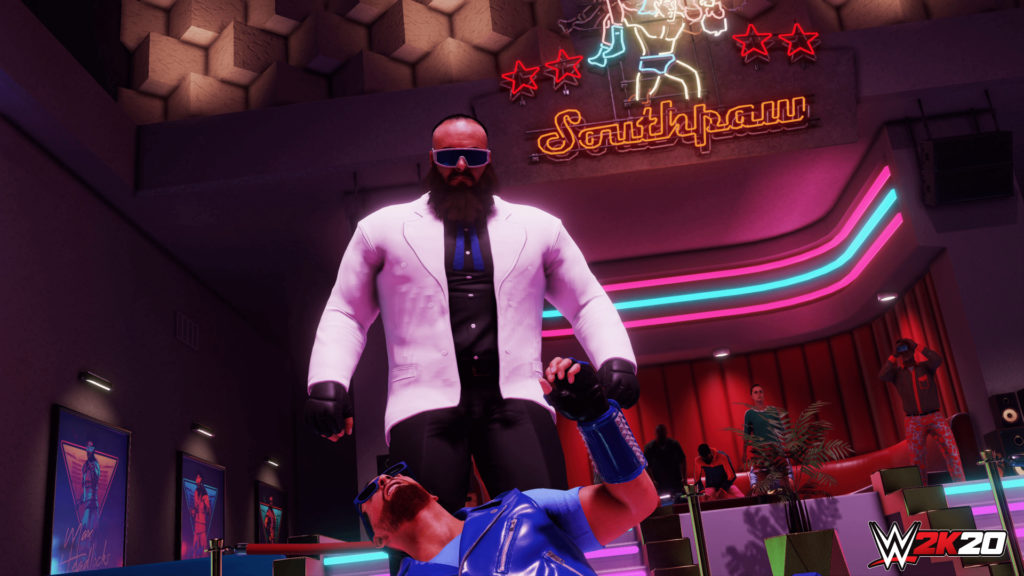 WWE 2K20 Originals Southpaw Regional Wrestling Braun Strowman