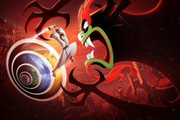 Samurai Jack: Battle Through Time - key art