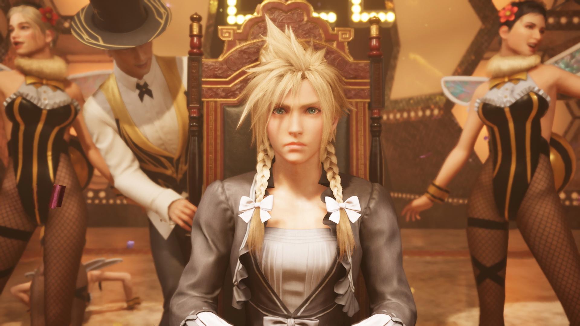 Final Fantasy VII Remake - Cloud DRESSED up