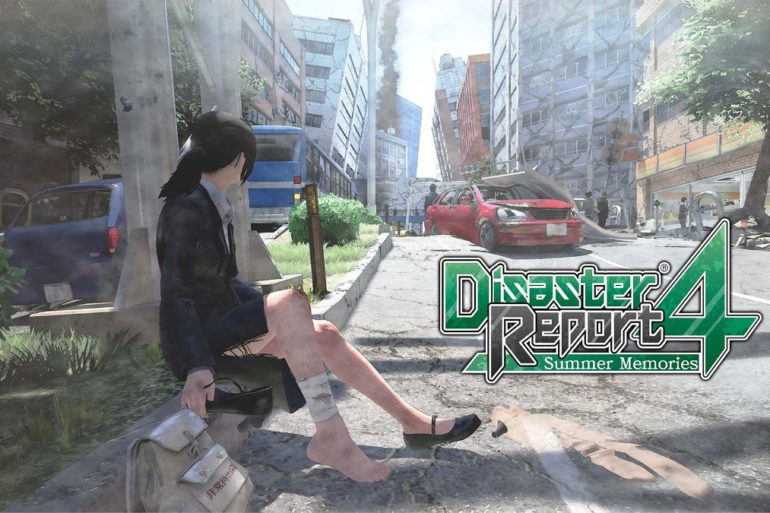 Disaster Report 4: Summer Memories - title screen
