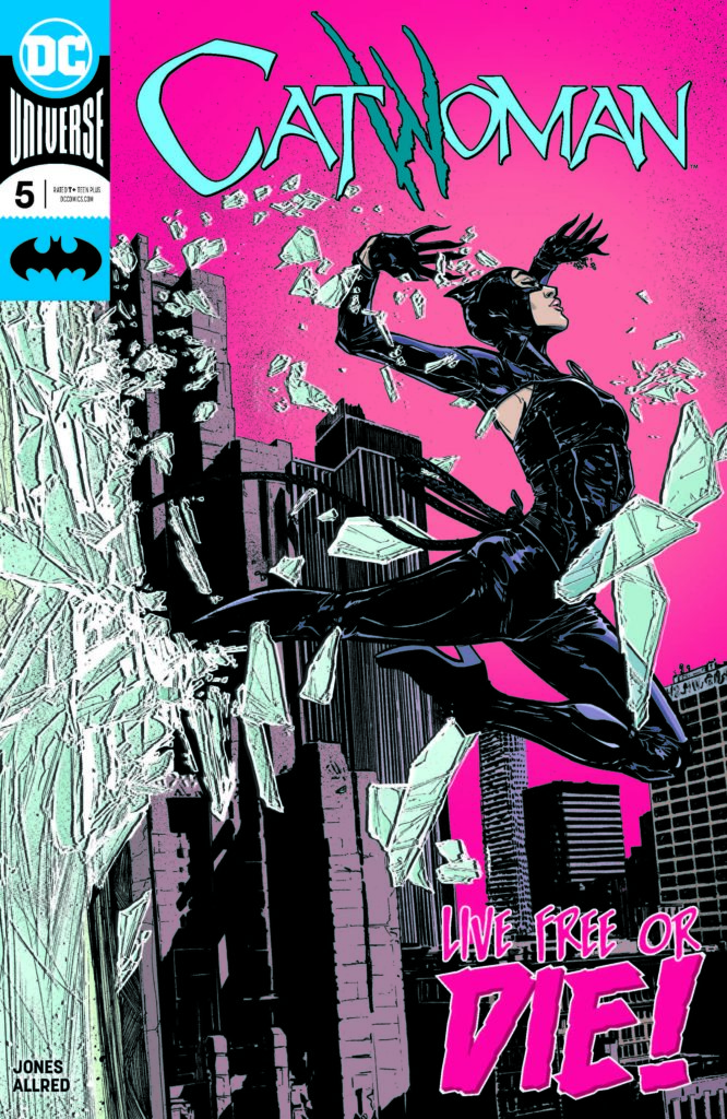 Catwoman 2018 5 Cover