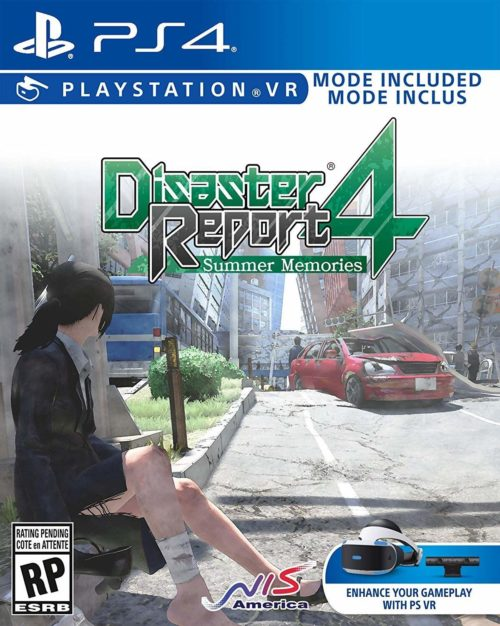 Disaster Report 4: Summer Memories - PS4 packshot