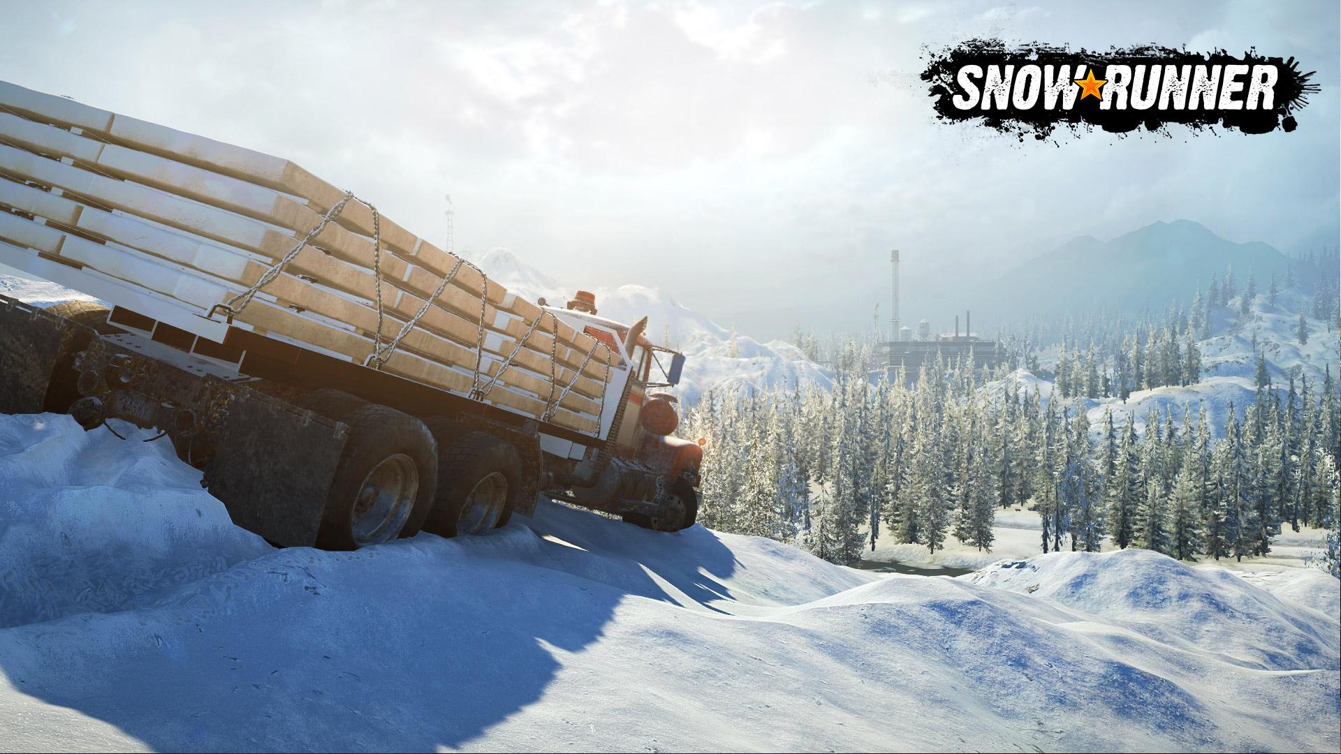 SnowRunner - Wood Haul